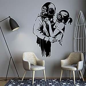 Extraíble Banksy emarace Decoración para el hogar Decoración ...
