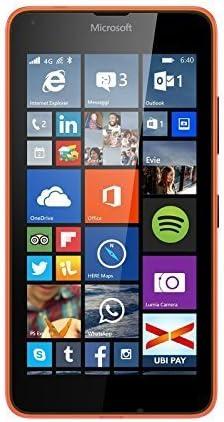 Microsoft Lumia 640 Smartphone (LTE, RM 1072), Color Naranja ...