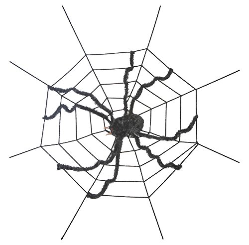 Ganz Halloween Decoration Giant Spider on Spider (Halloween Home Decorations Pinterest)