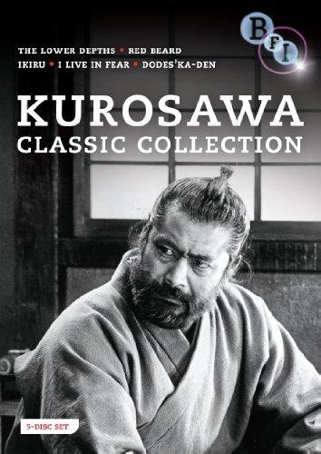 Kurosawa Classic Collection (Ikiru / Ikimono no kiroku / Donzoko / Akahige / Dodes'ka-den) (Living / I Live in Fear / The Lower Depths / Red Beard / Clickety-Clack) [Region 2]