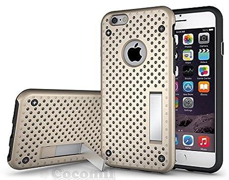 6e1ab4e4b15 Cocomii Cool Armor iPhone 6S/6 Funda [Robusto] Superior Táctico Sujeción  Soporte Antichoque