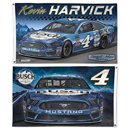 Win-craft Kevin Harvick 2019 Busch Two Sided 3x5 NASCAR ()