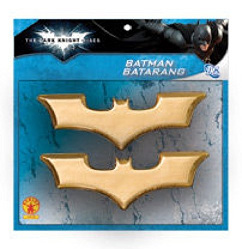 Batman: The Dark Knight Rises: Batarangs (Gold) -