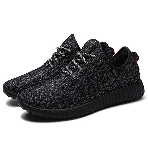 Nepretty Womens Knit Running Shoes Woman Casual Lightweight Athletic Sneakers Breathable Cloth on Top Gym Workout Walking Shoes …