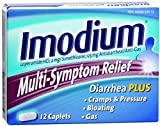 Imodium Multi-Symptom Relief Caplets 12 ea (Pack of 11)