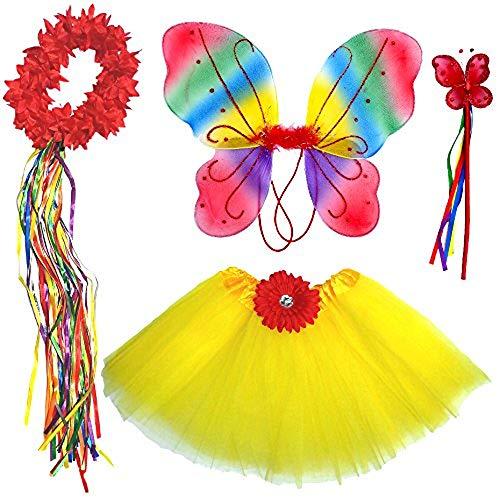 Enchantly Girls Fairy Costume Dress Up Play