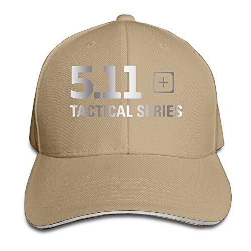 5.11 Tactical Logo Baseball Cap Sandwich Natural