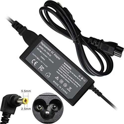 EBOYEE 65W PA3714U-1ACA AC Charger Compatible Toshiba Satellite C50 C55 C655 C850 C855 L655 L745 L755 P50 C855D C55D S55;Portege Z30 Z830 Z930;Radius 11 14 15 PA5177U-1ACA Laptop Adapter