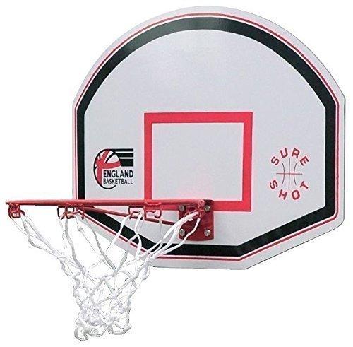 New Sure Shot Junior Basketball Ring And Backboard EB Logo Basketball Set by Sure Shot