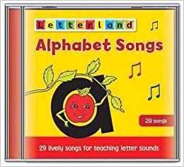 Alphabet Songs Letterland Lyn Wendon 9781862091979