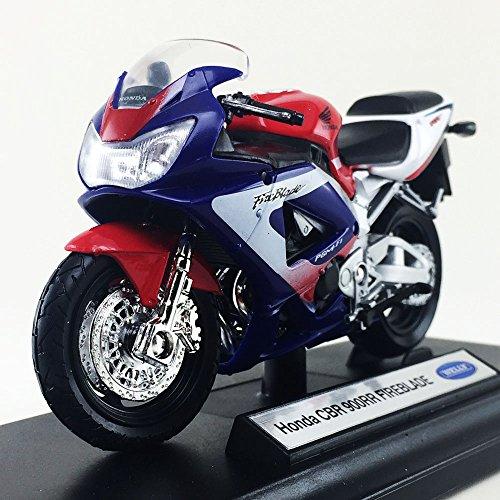 Honda CBR 900RR FIREBLADE Welly 1:18 Scale Motorcycle Diecas