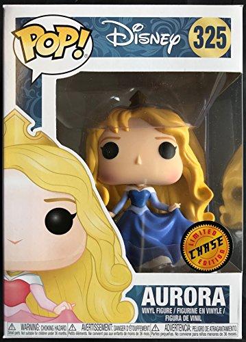 Funko Pop! Disney Princess: Sleeping Beauty - Aurora Limited Edition Chase Vinyl Figure (Includes Compatible Pop Box Protector Case) (Funko Pop Disney Princess Aurora)