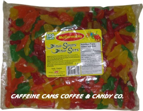 McCormicks Dino Sours Gummy Candy, 300 Count by McCormicks