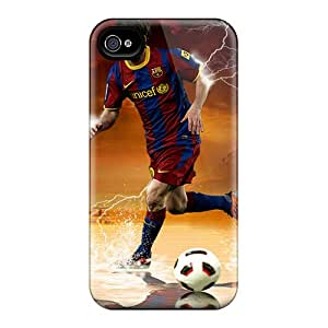 Protective Cell-phone Hard Covers For Iphone 6 (BQb19974WWUE) Customized Trendy Lionel Messi Image