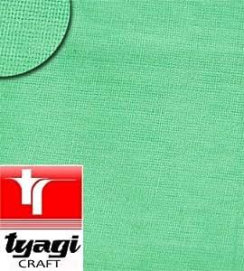 Cloth Fabric Plain Green