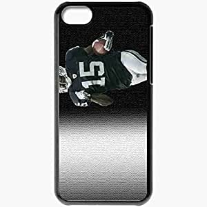 Personalized iPhone 5C Cell phone Case/Cover Skin 1520 oakland raiders 1 Black