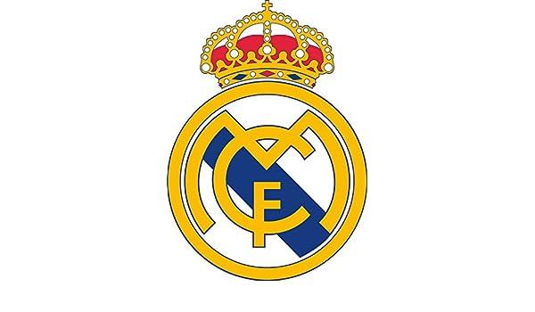 Adhesivo Pegatina Adhesivo Sticker Real Madrid 8 cm Aufkleber autocollant: Amazon.es: Hogar