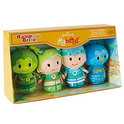 Hallmark itty bittys Rainbow Brite Stuffed Animal Collector Set: Toys & Games