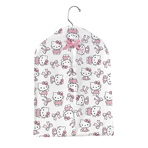 - Bedtime Originals Hello Kitty Luv Bow Diaper Stacker, Pink/White