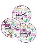 Llama Llamacorn Party Favor Stickers