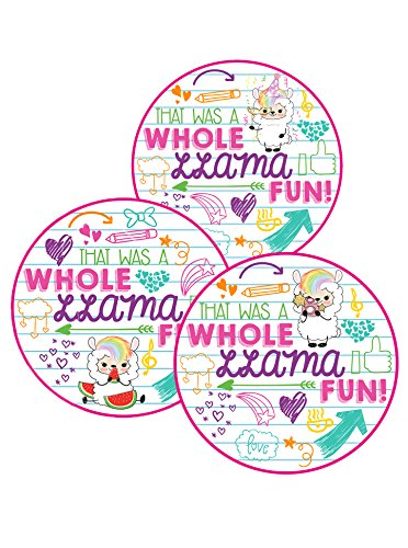 Llama Llamacorn Party Favor Stickers by Silly Goose Gifts