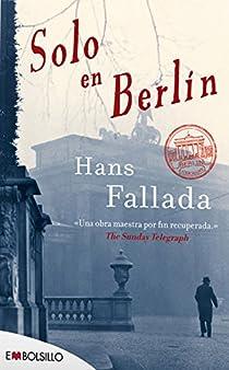 Solo en Berlín par Fallada
