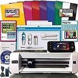 Brother ScanNCut 2 Scan n Cut Machine Rainbow Vinyl Transfer Paper Hook Designs