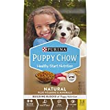 Purina Puppy Chow Natural High Protein Dry Puppy Food, With Real Chicken & Beef - 15.5 lb. Bag