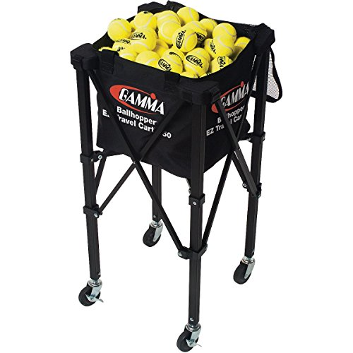 Gamma BALLHOPPER EZ TRAVEL TENNIS BALL (Ball Hopper Travel Cart)