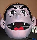 Sesame Street Count Head Mascot Costume Adult Costume