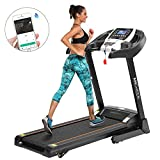 ANCHEER Treadmill, APP Control Electric Folding Treadmills (Black_2)