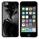 img - for Stuss Case / Hard Protective Case Cover - Ink Possessed Girl Demon Black White - Apple iPod Touch 6 6th Touch6 book / textbook / text book