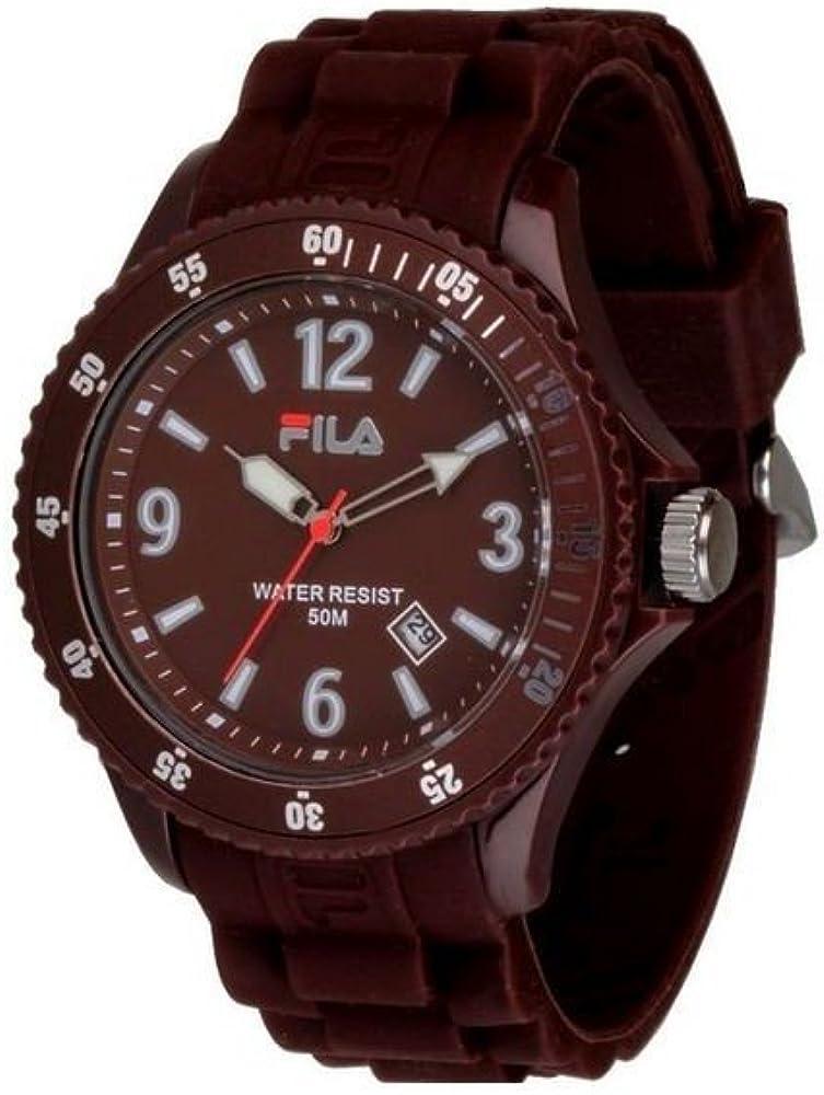 Fila Reloj analogico para Hombre de Cuarzo con Correa en Caucho FA-1023-43