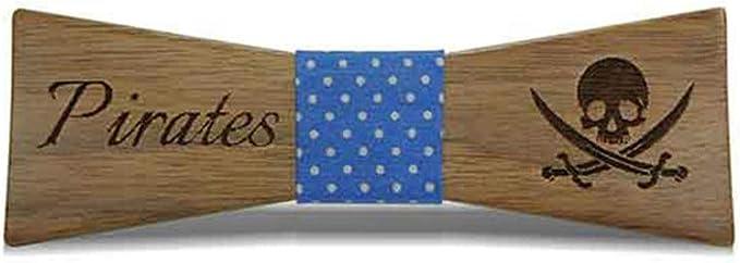 SGYAU-J Moda para hombres y mujeres Ropa de madera Corbata de lazo ...