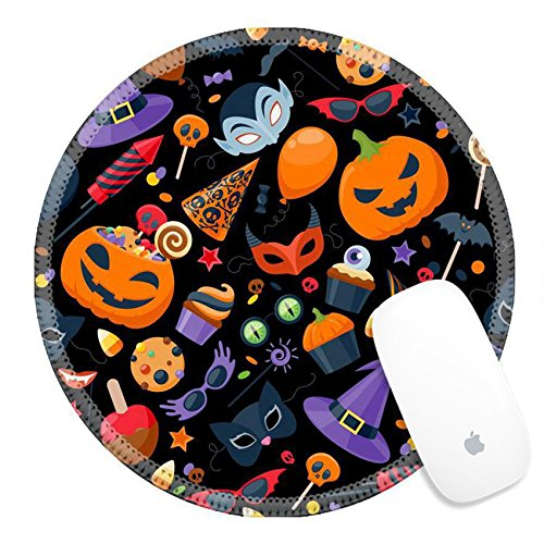 Luxlady Round Gaming Mousepad ID: 44139631 Halloween party c