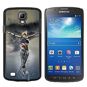 "Be-Star Único Patrón Plástico Duro Fundas Cover Cubre Hard Case Cover Para Samsung i9295 Galaxy S4 Active / i537 (NOT S4) ( Danza Mujer Street Style Outfit Fashion Art"" )"