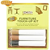 FURNITURE WOOD SCRATCH REPAIR TOUCH UP PEN KIT NEW by major