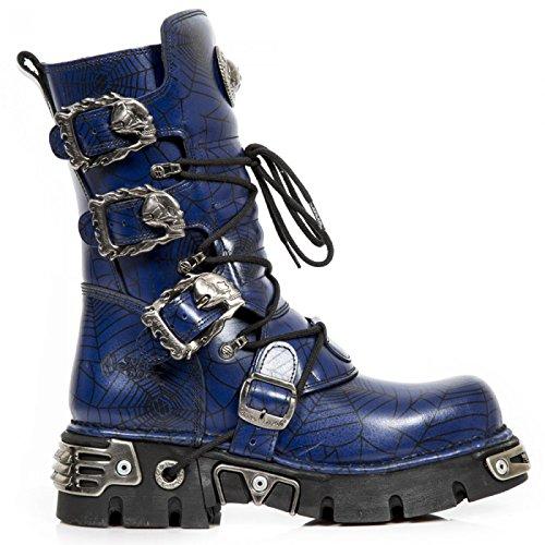 New Rock Handmade M 391 C160 Blau Unisex Stiefel