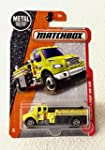 Matchbox 2017 MBX Heroic Rescue Freightliner M2 106 Fire Truck 85 125 Yellow