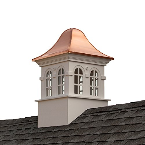 Good Directions Smithsonian Rockville Vinyl Cupola with Copper Roof, 26