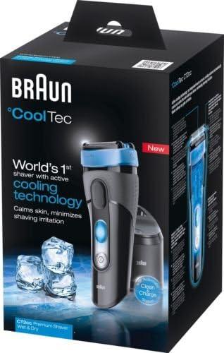 Marca nueva Braun ct2-cc Cool Tech afeitadora eléctrica.: Amazon ...