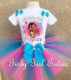 Moana Baby Custom Birthday Outfit Tutu