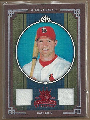 - 2005 Diamond Kings Materials Framed Red #210 Scott Rolen Jersey-Jersey /100