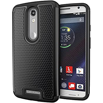 DROID Turbo 2 Case, Cimo [Shockproof] Case Heavy Duty Shock Absorbing Dual Layer