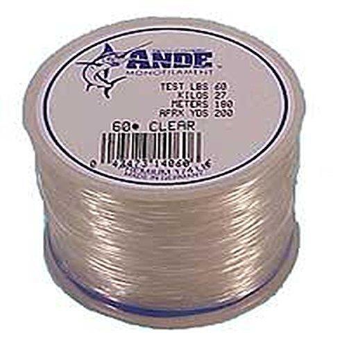 Ande Premium Monofilament – 1 lb. Spool – 50lb. Test – Clear