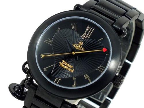 (ヴィヴィアンウエストウッド)Vivienne Westwood 腕時計 VV006BK ブラック レディース 取寄商品 [並行輸入品] B01FCS6QLQ