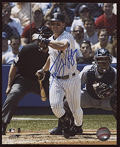 (Tino Martinez Yankees Autographed Photo B & E Holo)