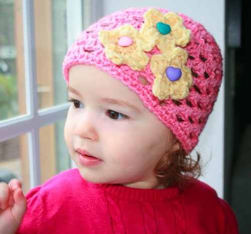 Crochet Baby Beanie Pattern - 2