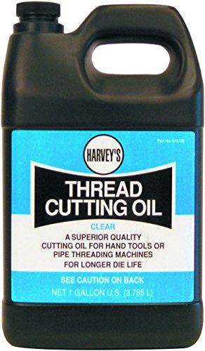 1 Gallon Thread Cutting Oil (Harvey 016150 1-Gallon Thread Cutting Oil, Clear)