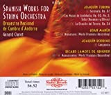 Spanish Works for String Orchestra